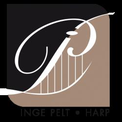 Harpiste Inge Pelt logo