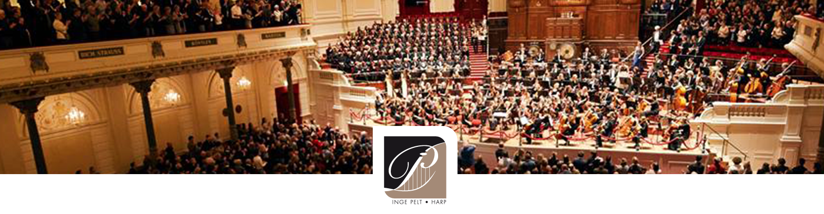 USC Concertgebouw Mahler Harpist